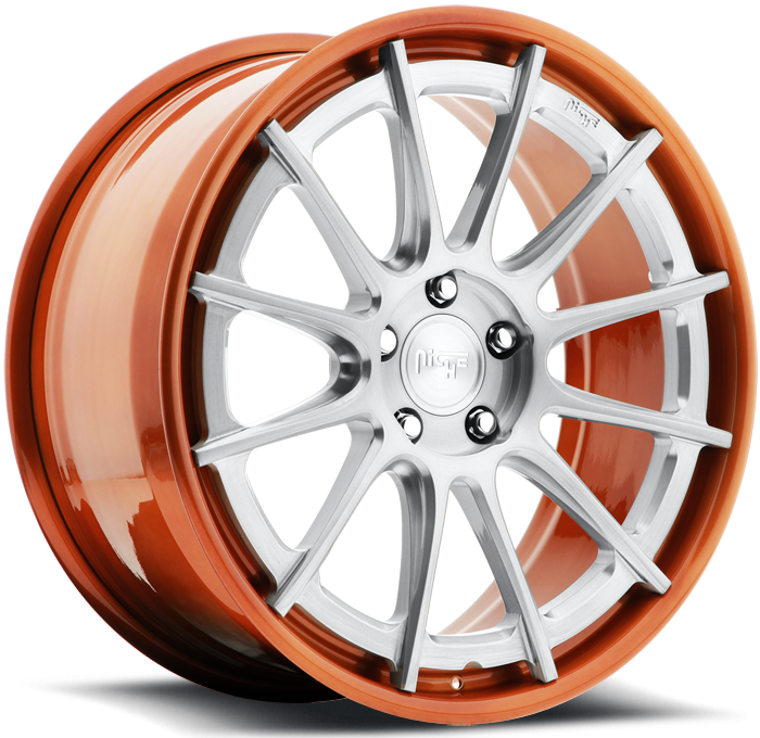 Niche Agile - H360 Brushed Copper Wheels
