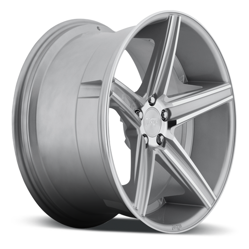 Niche Apex - M125 Silver Machined Wheels