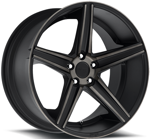 Niche Apex - M126 Black Machined Double Dark Tint Wheels