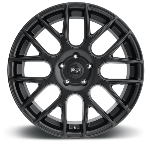 Niche Circuit - M110 Matte Black Wheels