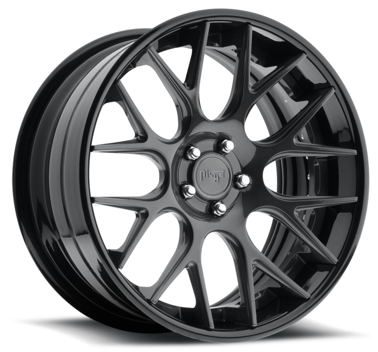 Niche Circuit - A300 Triple Dark Tint Wheels - 3 Piece Forged