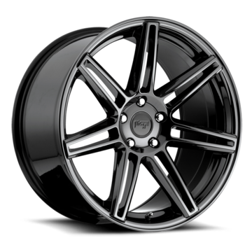 Niche Lucerne - M141 Black Chrome Wheels