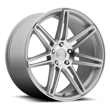 Niche Lucerne - M142 Silver Machined Wheels