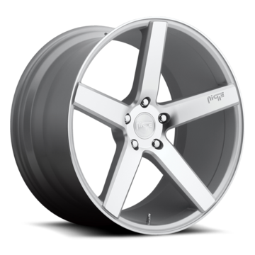 Niche Milan - M135 Silver Machined Wheels