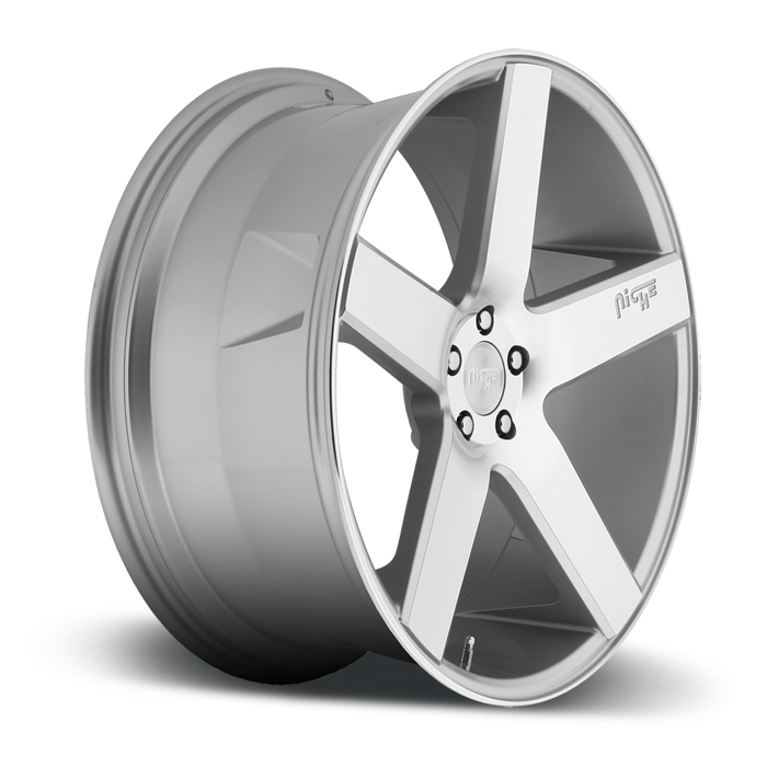 Niche Milan - M135 SUV Silver Machined Wheels