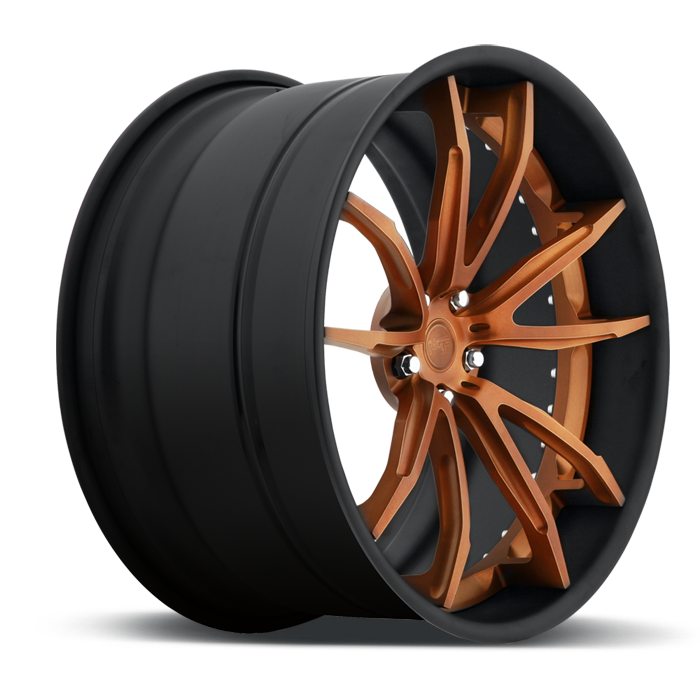 Niche Monza - A440 Monza Gold Wheels - 3 Piece Forged