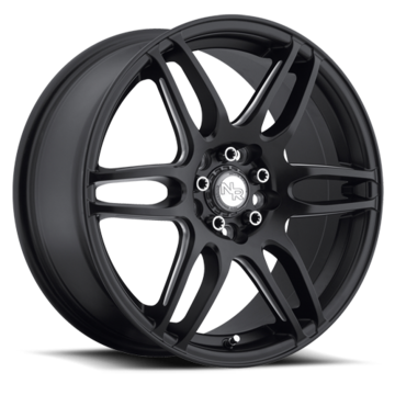Niche NR6 - M106 Matte Black and Milled Wheels