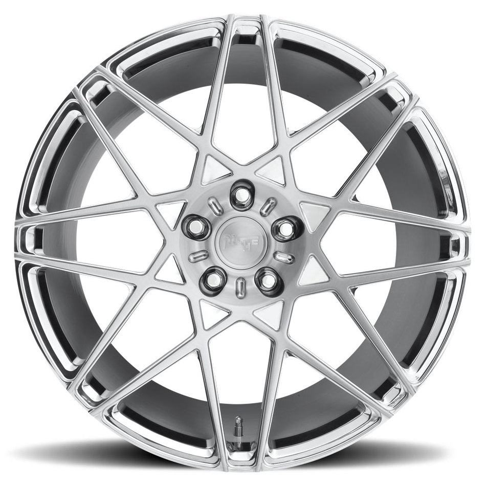 Niche Alpine - 86 Forged Brushed Face with Polished Windows and Brushed Barrel Finish Wheels