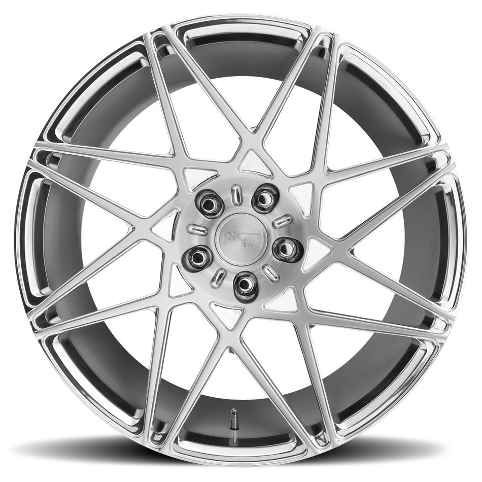 Niche Alpine D - 86 Forged Brushed and Polished Tint Finish Wheels
