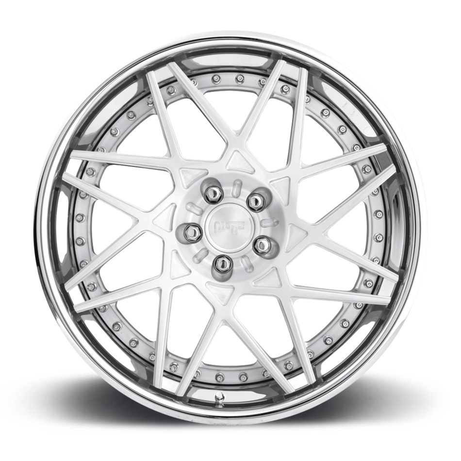 Niche Alpine D - 86 Forged Brushed with Polished Finish Wheels