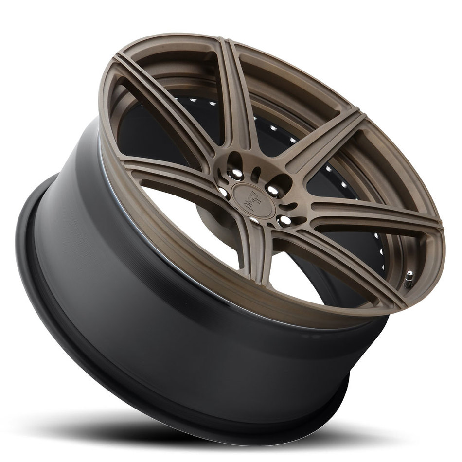 Niche Alta - 89 Forged Textured Cast Oil Bronze Finish Wheels