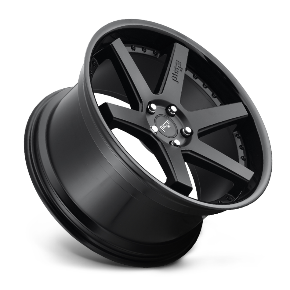 Niche Altair M192 Satin and Gloss Black Finish Wheels
