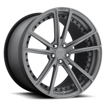 Niche Bastille - 903 Forged Textured Gunmetal Finish Wheels