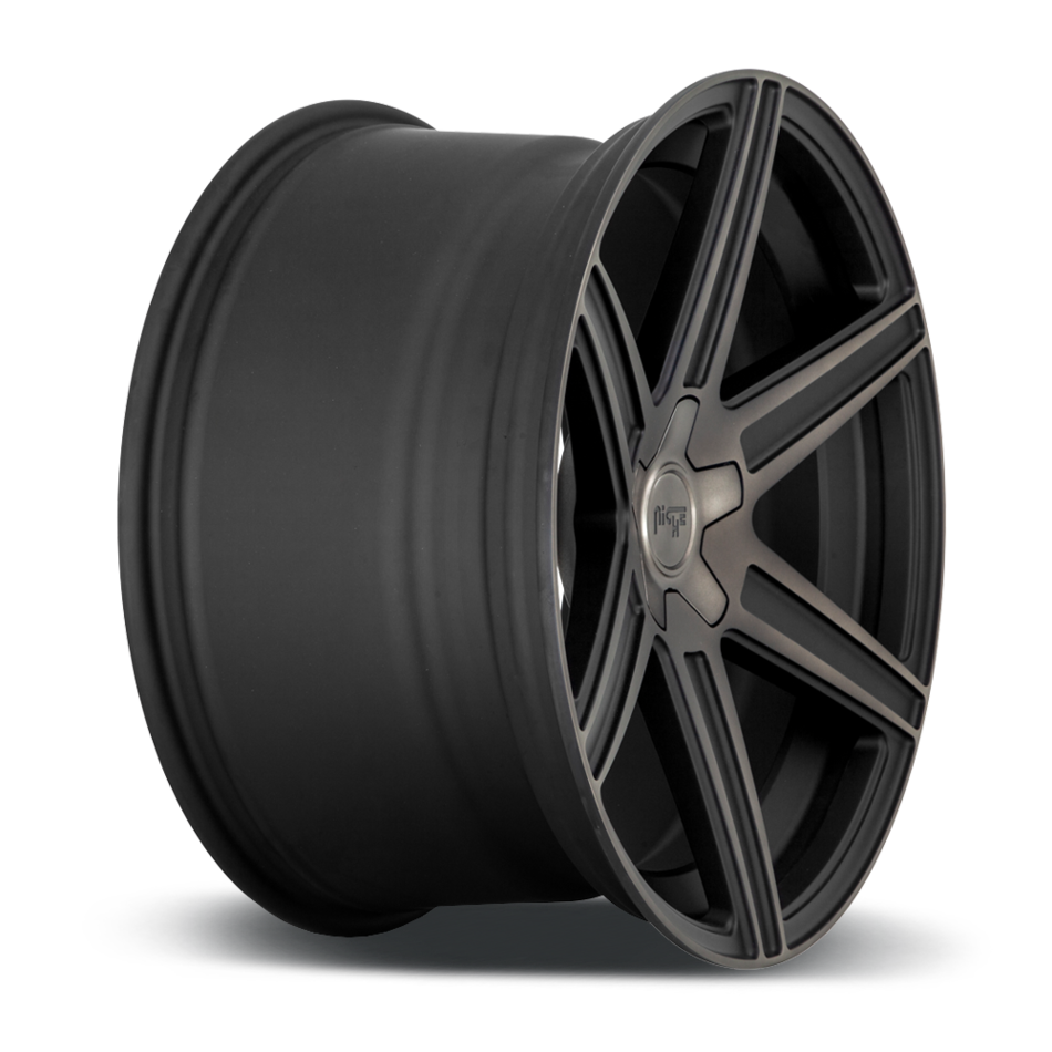 Niche Carina - M236 Wheels Matte Black Machined DDT Finish