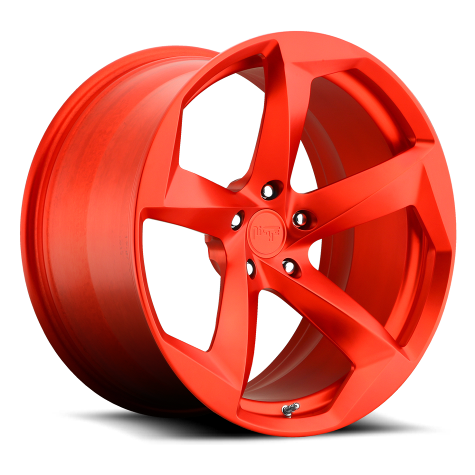 Niche DTM - 93 Forged Brushed Candy Red Finish Wheels