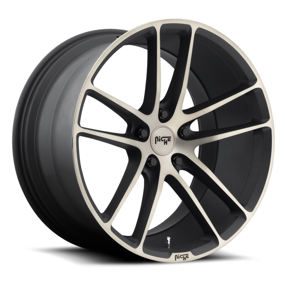 Niche Enyo - M115 Black and Brushed with Double Dark Tint Wheels