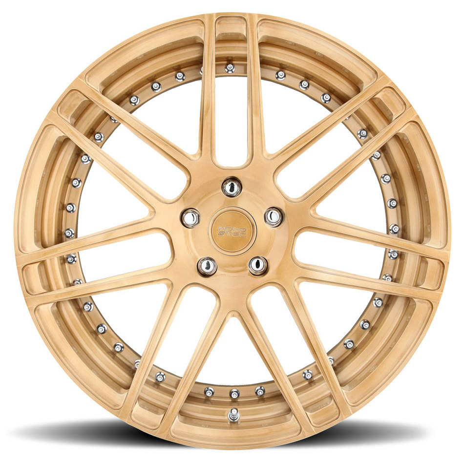 Niche Esses - 78 Forged Brushed Gloss Copper Finish Wheels