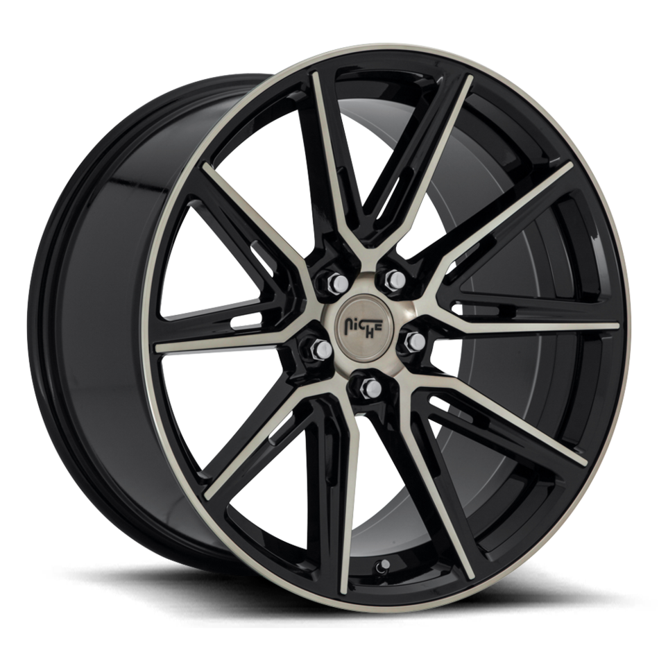 Niche Gemello - M219 Wheels Gloss Black Machined DDT Finish