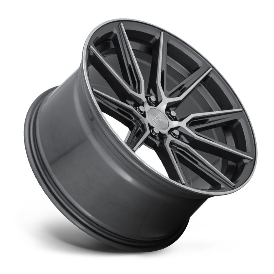 Niche Gemello - M220 Wheels Gloss Machined and Anthracite Finish