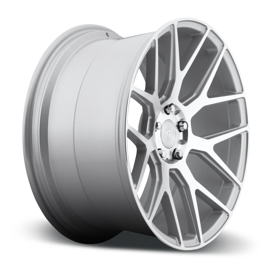 Niche Intake - M160 Silver and Machined Wheels