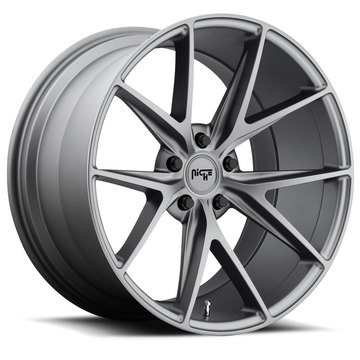 Niche Misano - M116 Anthracite Finish Wheels
