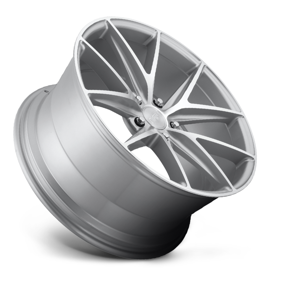 Niche Misano - M118 Silver and Brushed Finish Wheels