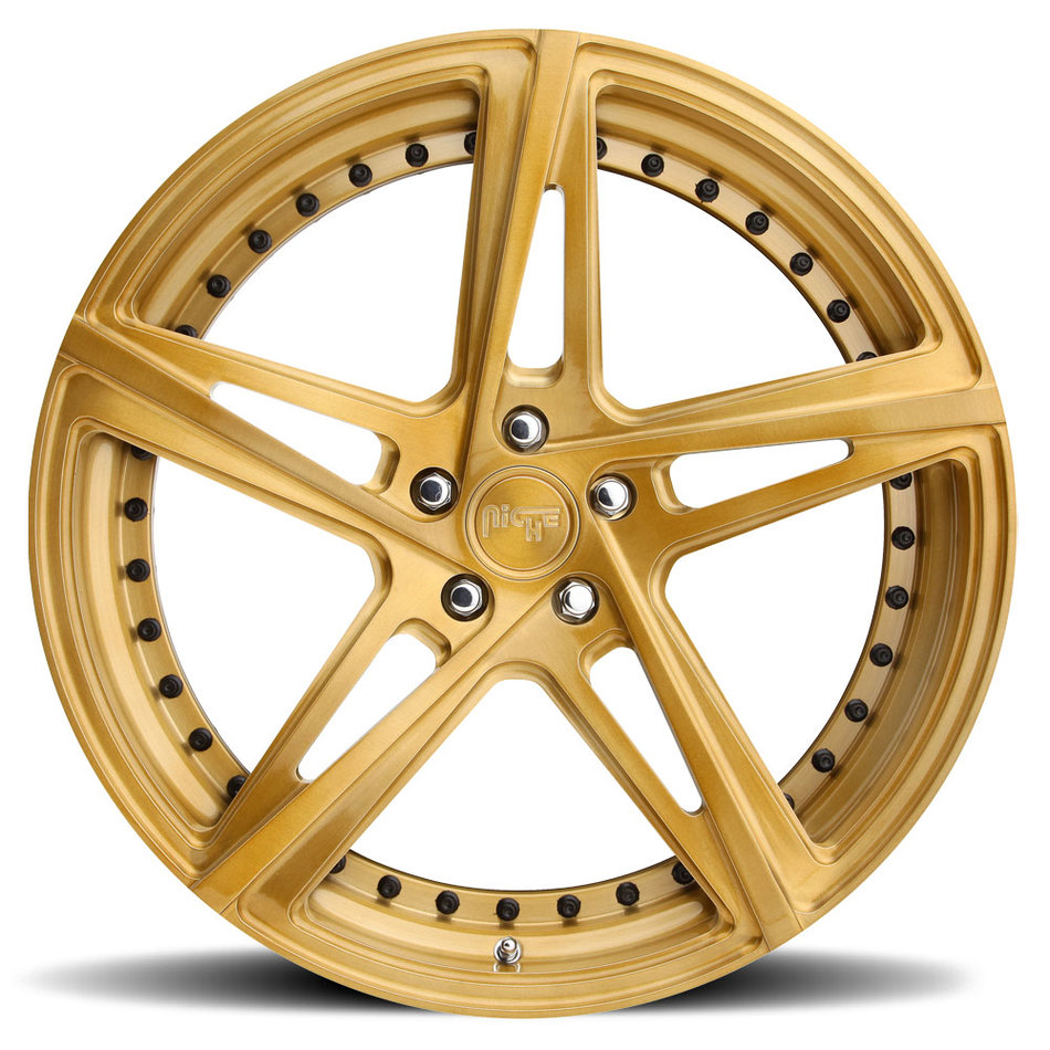 Niche Mulsanne - 91 Forged Brushed Copper Finish Wheels