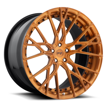 Niche Ribelle - 970 Forged Matte Sable Brown Finish Wheels