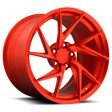 Niche Sotto - 960 Forged Matte Candy Red Finish Wheels