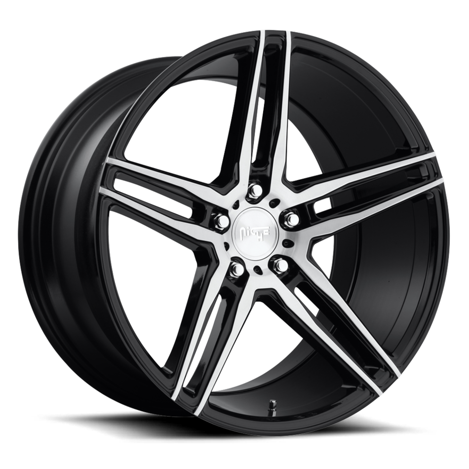 Niche Turin M169 Gloss Black and Brushed Finish Wheels