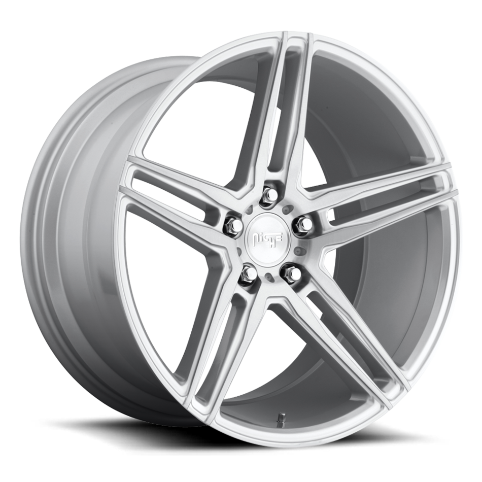 Niche Turin - M170 Brushed Silver Finish Wheels