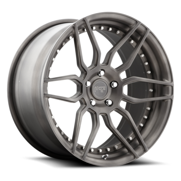 Niche Vella Forged Brushed Matte DDT Finish Wheels