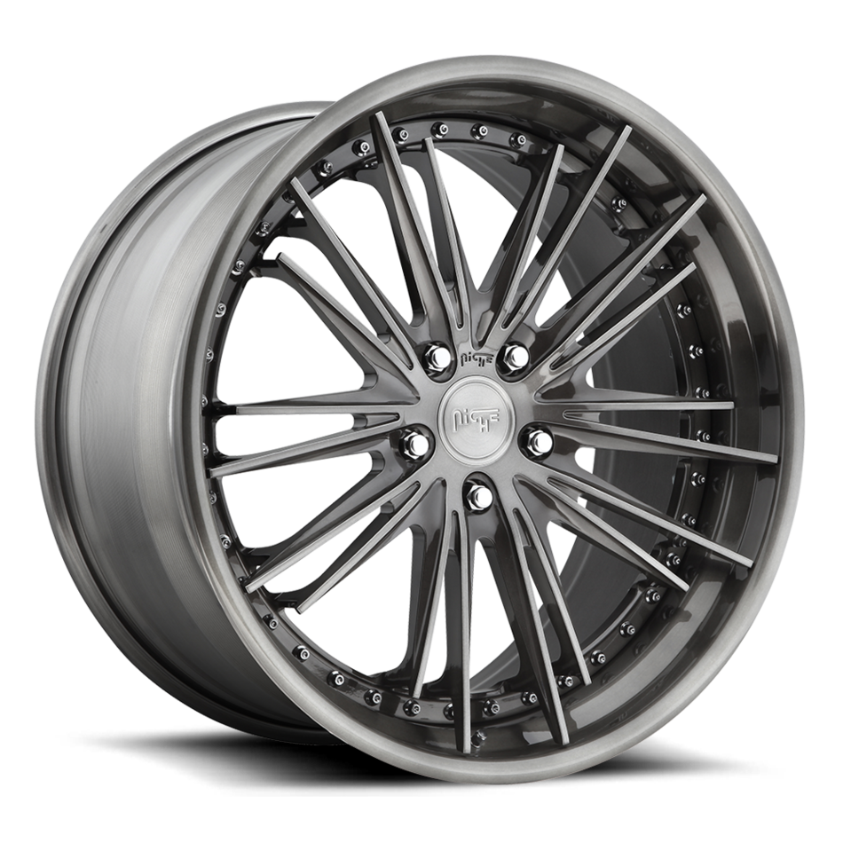 Niche Ventus - 902 Forged Candy Black and DDT Finish Wheels