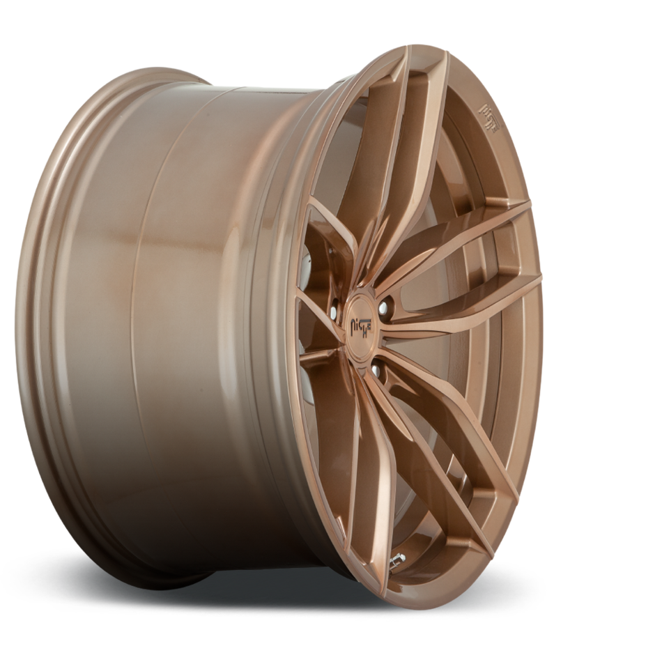 Niche Vosso M202 Wheels Bronze andf Brushed Finish