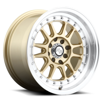 Niche Walker - M092 Matte Gold with Machined Lip Wheels