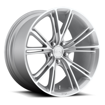 Niche Ritz - M143 Silver Machined Wheels