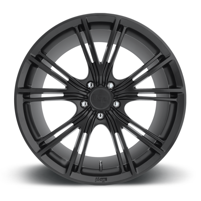 Niche Ritz - M143 Matte Black Wheels