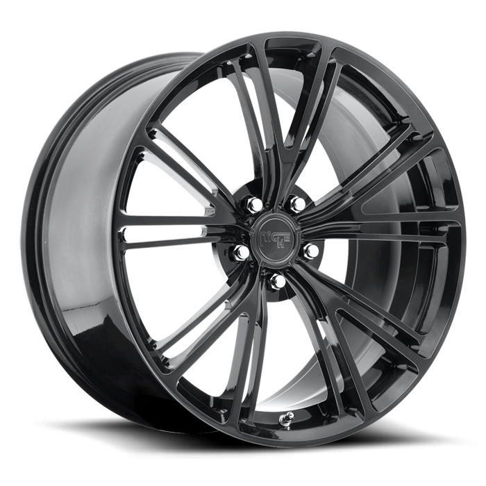Niche Ritz - T580 Candy Black Monoblock Wheels