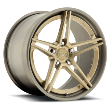 Niche Roma - A340 Brushed Gloss Liquid Bronze Matte Copper Wheels