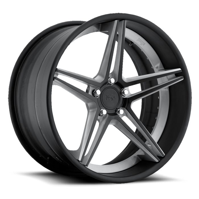 Niche Roma - A340 Matte Black and Machined Wheels