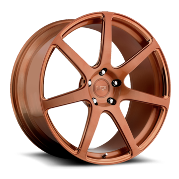 Niche Scuderia 7 - T20 Brushed Gold Monoblock Wheels