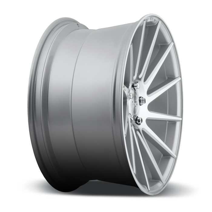 Niche Surge - M112 Silver Machined Wheels