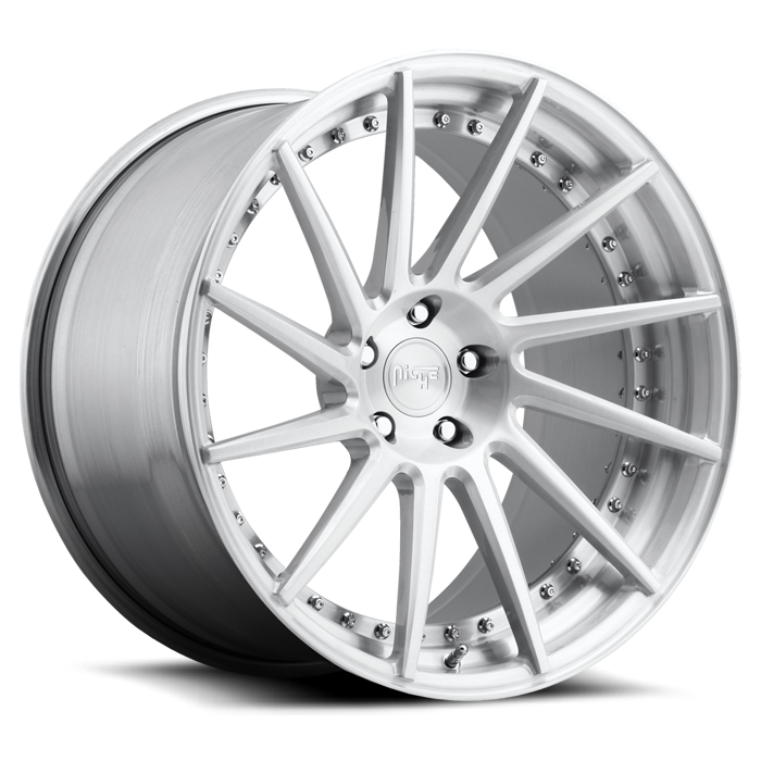 Niche Surge - P75 Brushed Finish Wheels