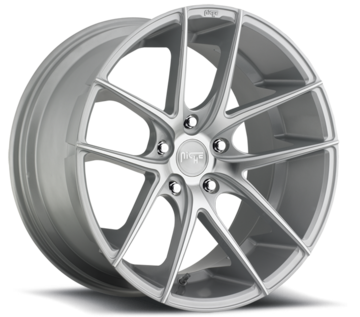 Niche Targa - M131 Silver Machined Wheels