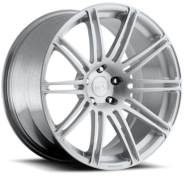 Niche Touring - T01 Custom Brushed Monoblock Wheels