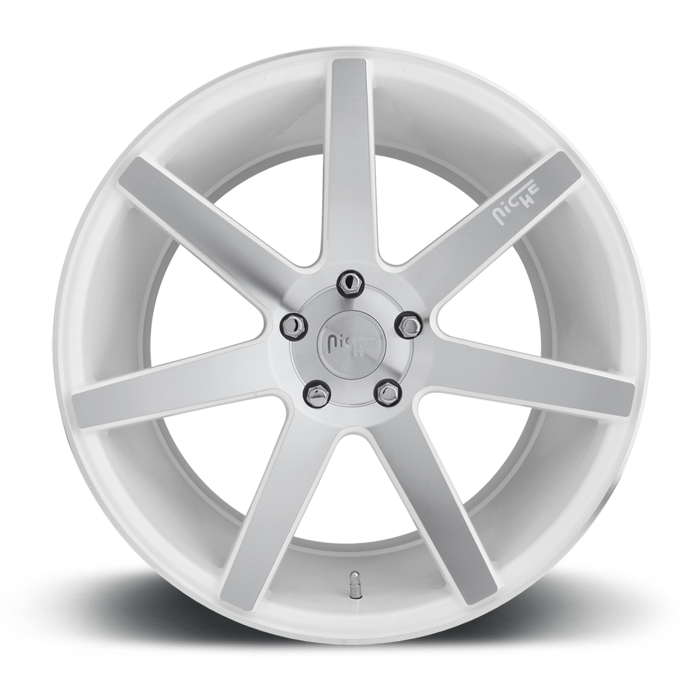 Niche Verona - M151 White Machined Wheels