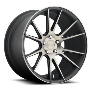 Niche Vicenza - M153 Matte Black Double Dark Tint Wheels
