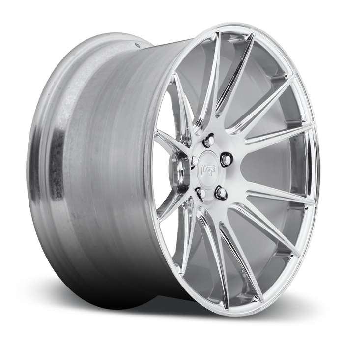 Niche Vicenza - T72 Brushed and Polished Monoblock Wheels