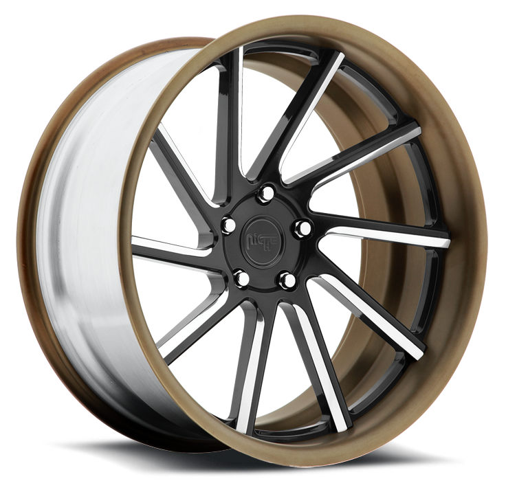 Niche WS10 - A60 Black and Bronze Wheels