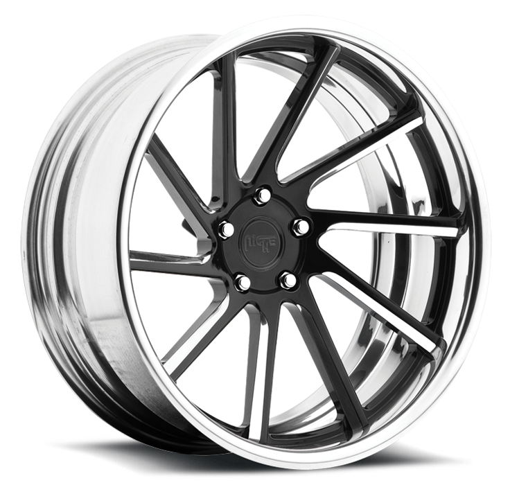 Niche WS10 - A60 Black and Machined Wheels